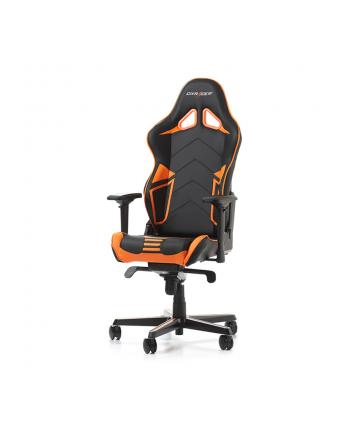 DXRacer Racing Pro Series fotel gamingowy, czarny/biały/pomarańczowy (OH/RH110/NWO)