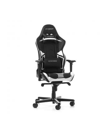 DXRacer Racing Pro Series fotel gamingowy, czarny/biały/szary (OH/RH110/NWG)