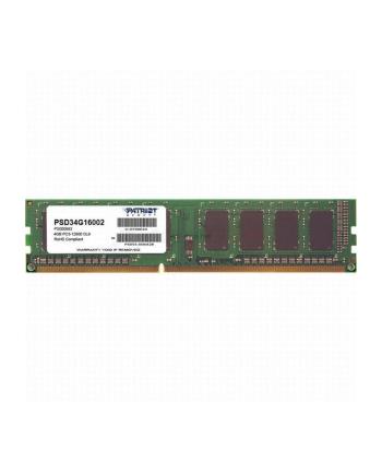 Patriot DDR3 4 GB 1600-CL11 - Single