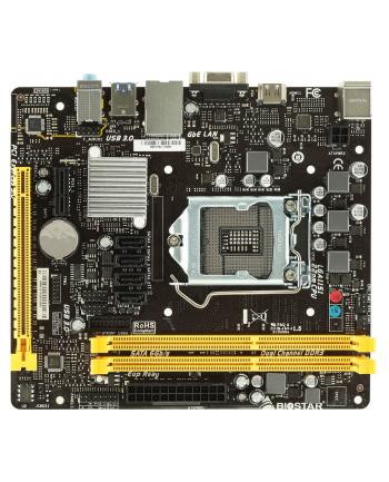 Biostar H110MHV3, LGA 1151, DDR3L-1866(OC)/ 1600/ 1333, USB 3.0