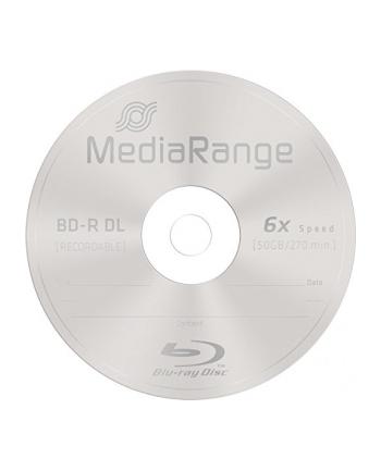 MediaRange BD-R DL 50 GB, Blu-ray - Rolka 25szt