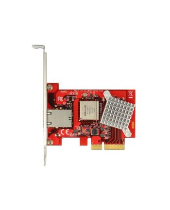 DeLOCK PCIe x4 Gigabit LAN RJ45 NBase-T + Low profile adapter