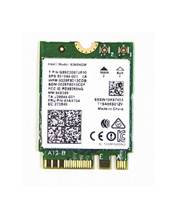 Intel Dual Band WLAN-AC 8265 M.2 - WiFi adapter - bulk