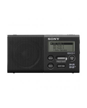 Sony XDR-P1DBP Black, Radio