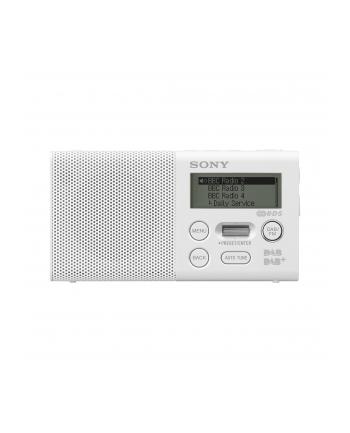 Sony XDR-P1DBPW, Radio - white