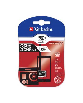 Verbatim Micro SDHC 32GB Class10