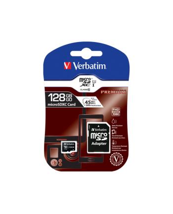 Verbatim Micro SDXC 128GB Class10 UHS-I + Adapter