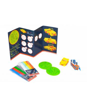 3DOODLER DoodleBlocks -  Szablony do długopisu Start, POJAZDY