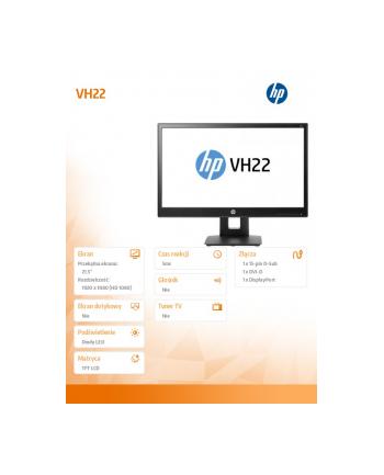 HP Inc. 21.5'' VH22  Monitor                  X0N05AA