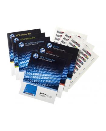 Hewlett Packard Enterprise LTO4 Ultrium RW Bar Code Label Pack Q2009A