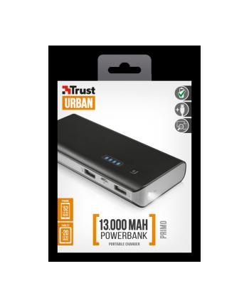 Trust Primo Powerbank 13000 - czarny