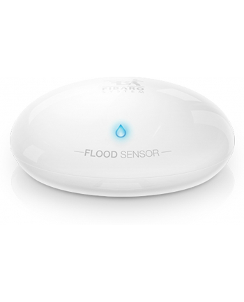 Fibaro Fibaro FGBHFS-001 Czujnik zalania wodą wewnętrzny Biały