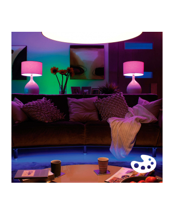 Philips żarówka LED hue 929000261705 (reflektor 250lm 6 5W GU10 biała i kolorowa) hue