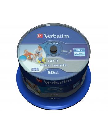 BD-R Verbatim Printable Datalife 25GB 6x 50szt. cake