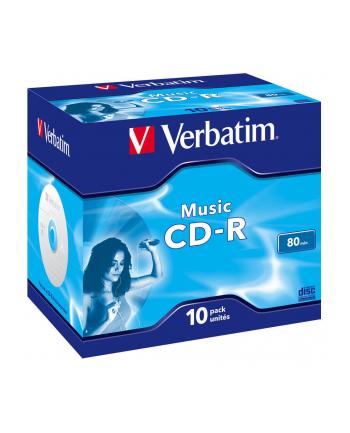 CD-R Verbatim Audio 700MB 16x 10szt. case