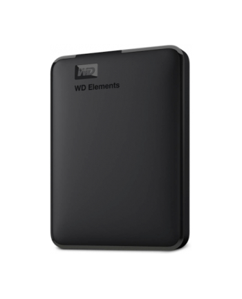 Dysk zewnętrzny Western Digital ELEMENTS 2000GB 2 5  USB 3.0 USB 2.0 Czarny WDBU6Y0020BBK-EESN