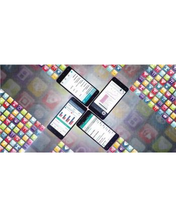 GOCLEVER Quantum 4 550 LTE, Dual SIM, 5,5'' IPS, czarny