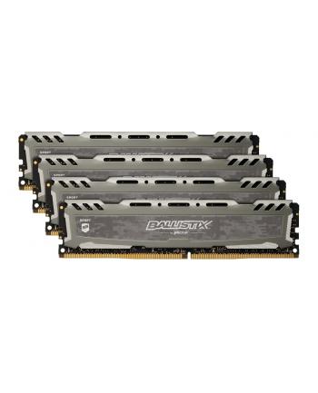 Crucial DDR4 64 GB 2666-CL16 - Quad-Kit - Ballistix Sport LT - grey