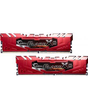 G.Skill DDR4 16GB 2400-CL16 Flare X - Dual-Kit - Red