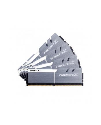 G.Skill DDR4 64 GB 3200-CL14 Quad-Kit - Trident Z - silver/white