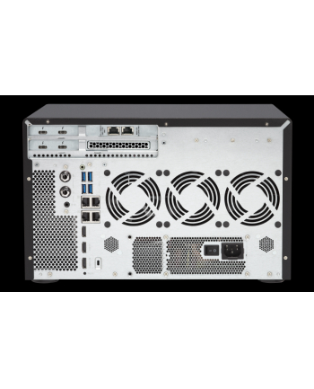 QNAP TVS-1282T3-i5-16G 8x0HDD 4xHDD 2.5 16GB 4xThunderbolt 3