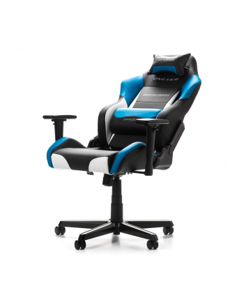 DXRacer Drifting Gaming Chair black/white/blue - GC-D61-NWB-M3