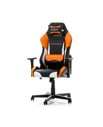 DXRacer Drifting Gaming Chair black/white/orange - GC-D61-NWO-M3