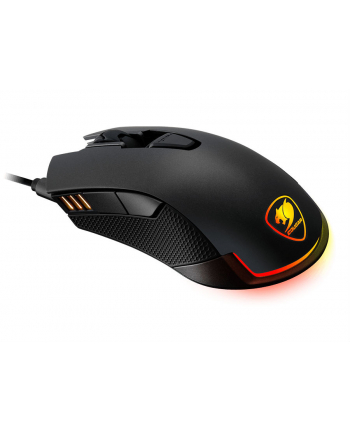 Mysz Cougar Revenger optyczna  czarna