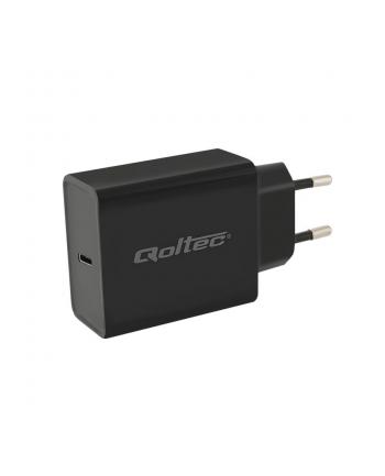 Zasilacz QOLTEC USB typC | PD Power delivery | 30W | 5-20V