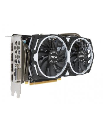 MSI Radeon RX 570 ARMOR 4G OC, 4GB, DL-DVI-D/HDMI/DP*3/ATX