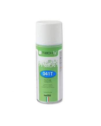 Techly Kontaktowy spray czyszczący do elektroniki i elektryki 400ml