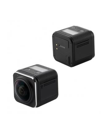 Wodoodporna kamera sportowa QOLTEC | LCD 0.82'' | 360st | czarna