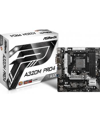 ASRock A320M Pro4, AMD A320 Mainboard - Sockel AM4