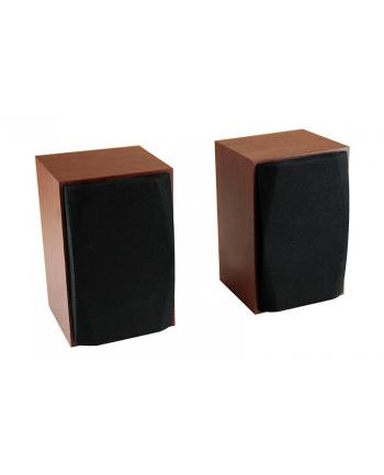 Media-Tech WOOD-X - Głośniki stereofoniczne 10W RMS, drewniane obudowy, reg. głośności