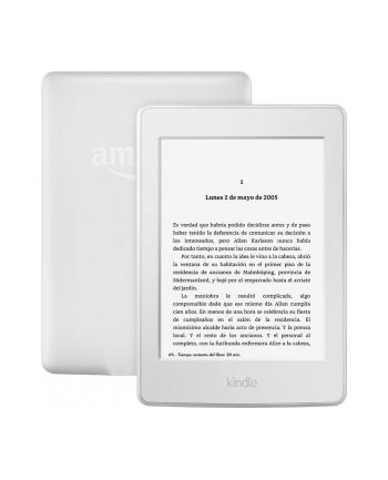 Amazon Kindle Paperwhite 3 2015, 6'' HD E-ink, 4GB, WiFi sponsored, white