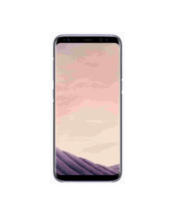 Samsung Clear Cover Galaxy S8 Violet