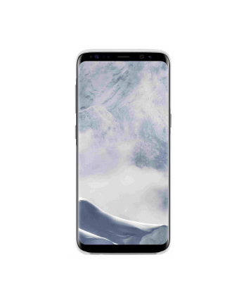 Samsung Clear Cover Galaxy S8+ Silver