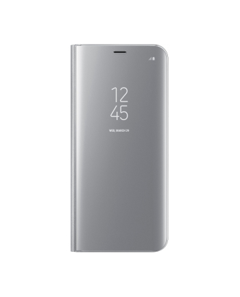 Samsung Clear View Standing cover S8+ Silver