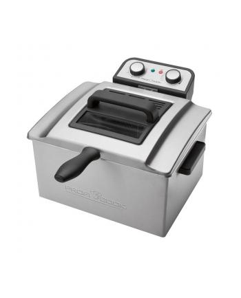 Clatronic Frytkownica Profi Cook PC-FR 1038 (4l 3000W srebrna)