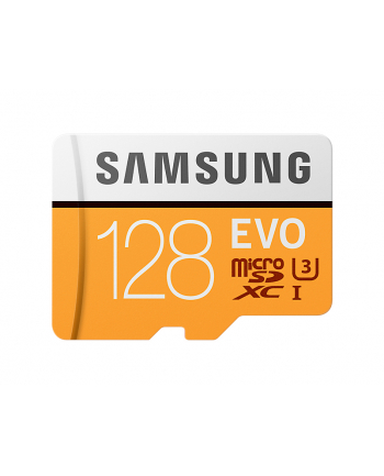 Samsung MB-MP128GA/EU 128GB EVO mSD +Adapter