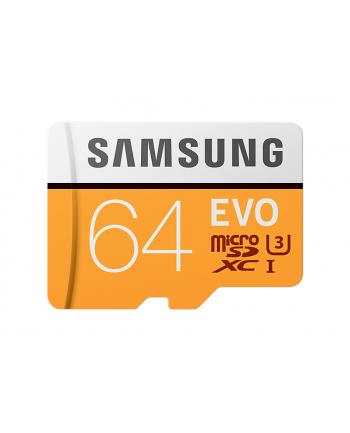 Samsung MB-MP64GA/EU 64 GB EVO mSD + Adapter