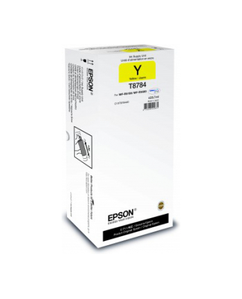 Epson Tusz T8784 YELLOW  425.7ml do WF-R5190/R5690