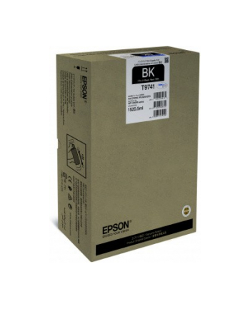 Epson Tusz T9741 BLACK 1520.5ml do serii WF-C869Rxx