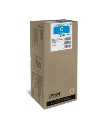 Epson Tusz T9742 CYAN 735.2ml do serii WF-C869Rxx