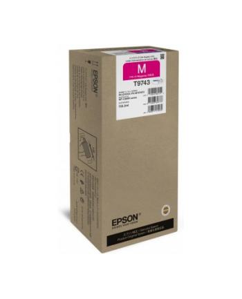 Epson Tusz T9743 MAGENTA 735.2ml do serii WF-C869Rxx