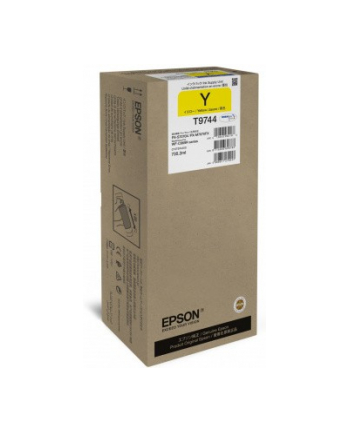 Epson Tusz T9744 YELLOW 735.2ml do serii WF-C869Rxx