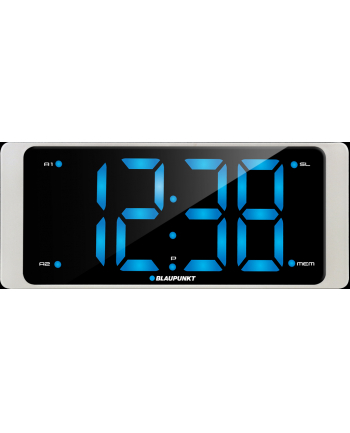 Radiobudzik Blaupunkt CR16WH , FM PLL, USB chargin, LED display 3''