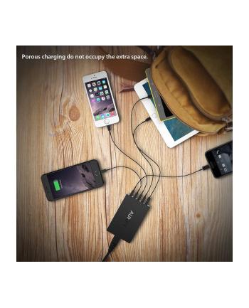 AUKEY PA-T15 ultraszybka ładowarka sieciowa 5xUSB Quick Charge 3.0 10.2A 54W