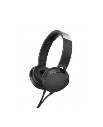 Sony MDR-XB550APL niebieskie, mikrofon