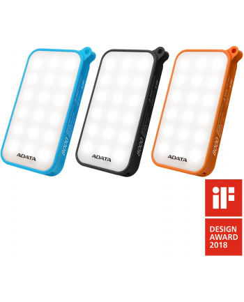 Adata Powerbank D8000 8000mAh  2.1A Orange Led Light